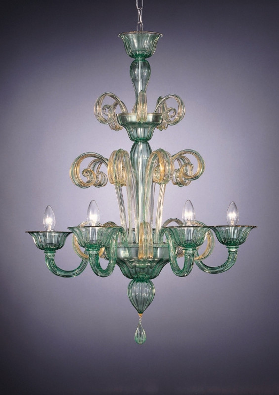 Murano Glass Salerno Chandelier