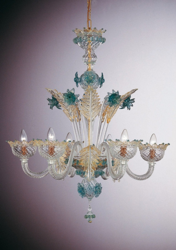 Murano Glass Tuscany Chandelier