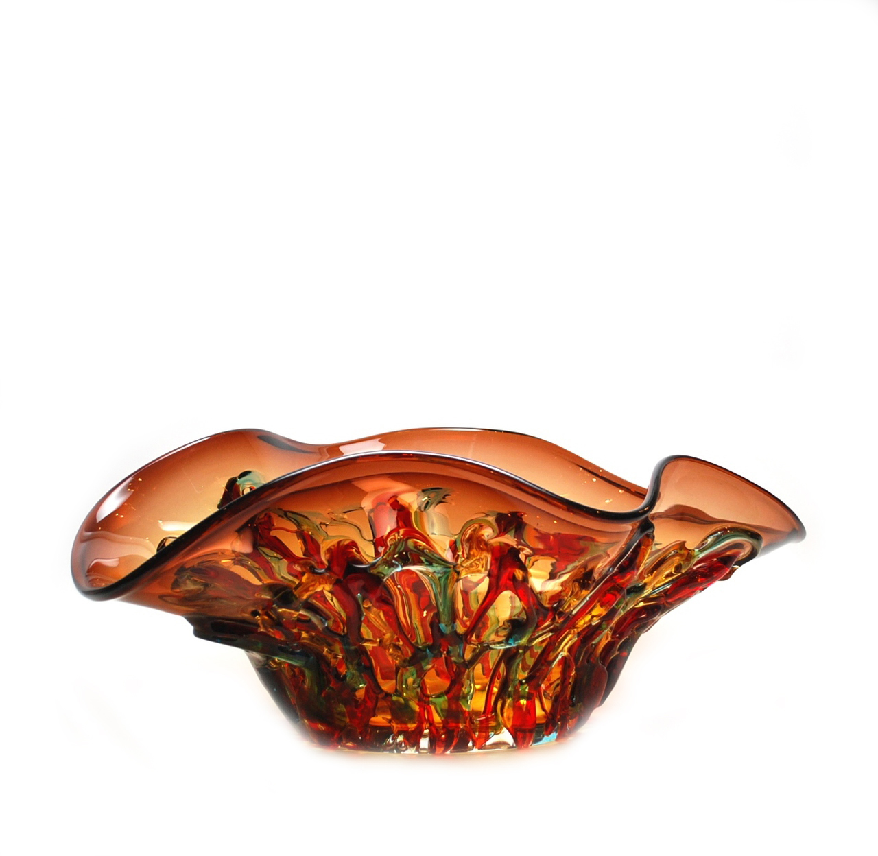 murano glass bowls & centerpieces