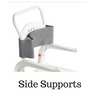 Side Supports for Shower Wheelchair by ETAC