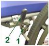 """Wheel Locks For 24"""" Rear Wheel"""