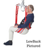 Toileting Sling For Patient Lift