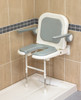 """Deluxe Fold Up """"U"""" Shower Seat With Arms"""