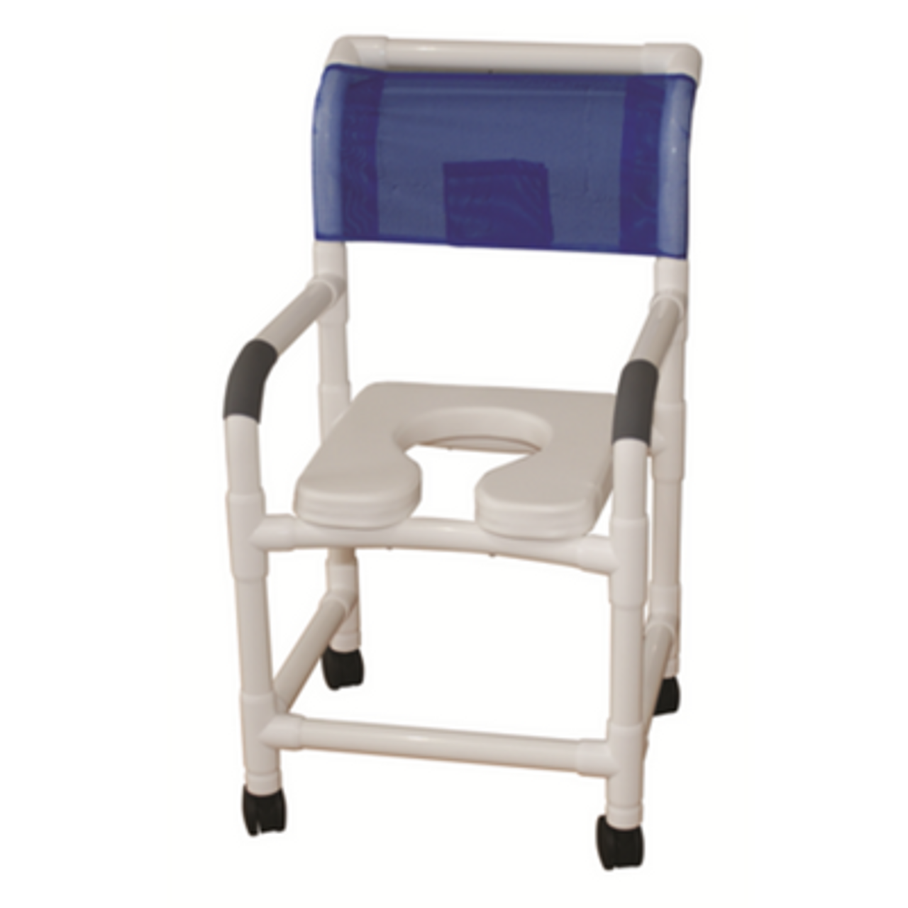 Rolling Shower Chair Padded Seat