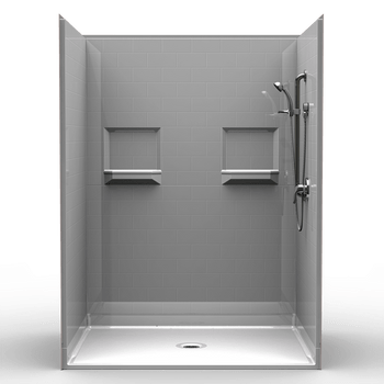 Wheelchair Accessible Shower 60 X 48