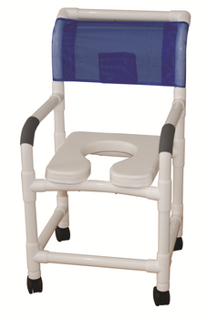 Extra Wide Shower Chair With Soft Seat