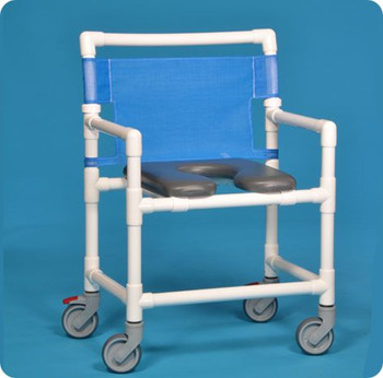Extra Wide Shower Commode Chair
