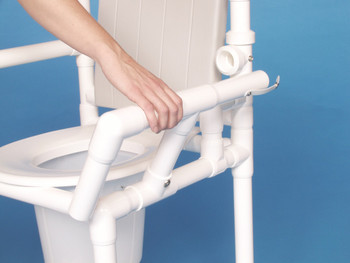 Drop Arms For IPU PVC Shower Chair