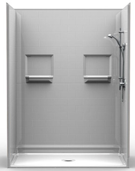 Handicap Accessible Shower 60 X 34