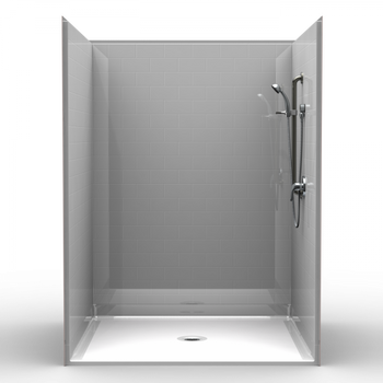 60 X 60 Roll In Ready Shower