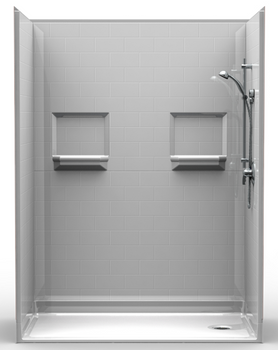 5 Piece ADA Shower 63 X 31