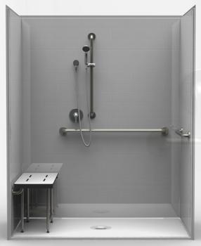 ADA Roll-In Shower 63 X 37