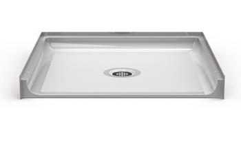 Roll-In Shower Pan 36 X 36