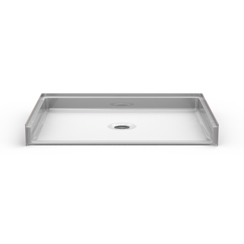 Roll-In Shower Pan 48 X 34