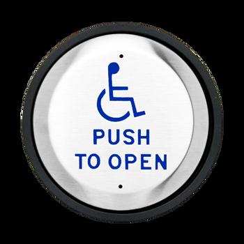 round handicap push plate button 6