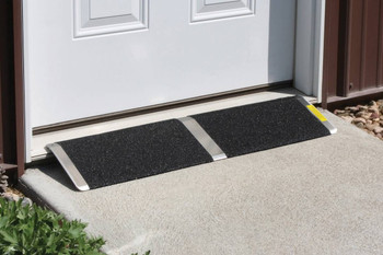 "Aluminum Threshold Ramps 8"" X 32"""