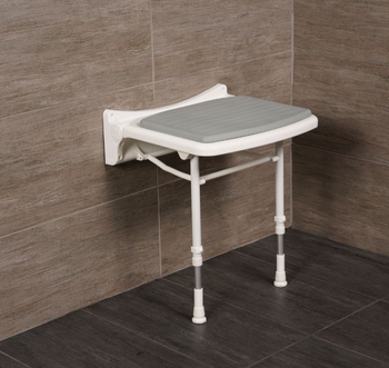 Economy Wall Mounted  Shower Seat Standard Width