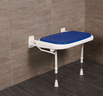 Deluxe Wide Wall Mounted Shower Seat