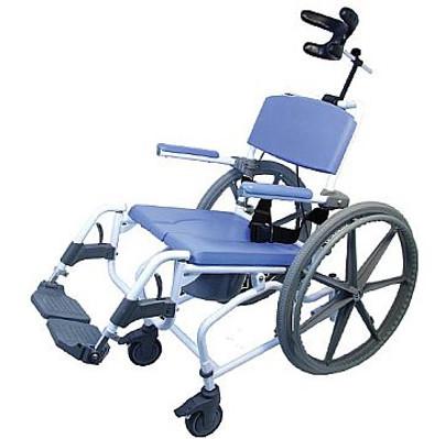EZEE Tilt Shower Commode Wheelchair