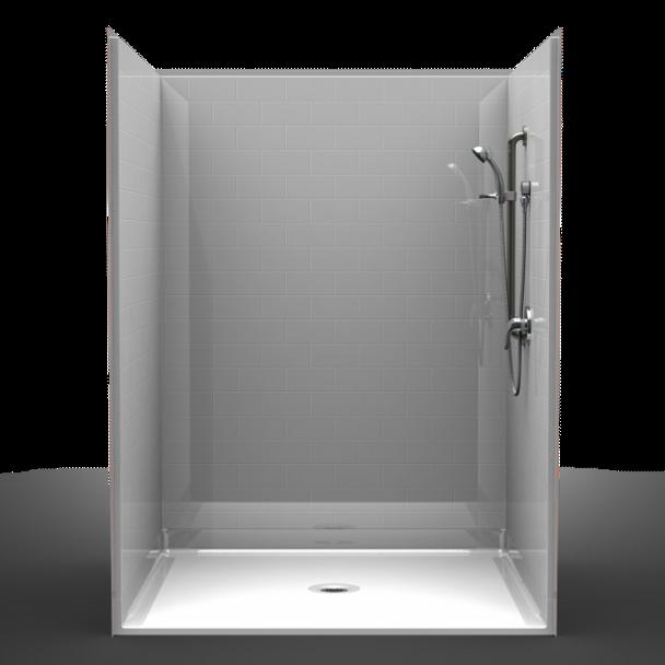 Handicap Accessible Shower 72 X 48