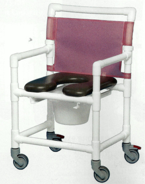 Extra Wide Open Front Soft Seat Shower Chair