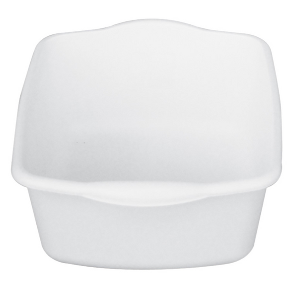 Square Pail With Rails For MJM Shower Chair
