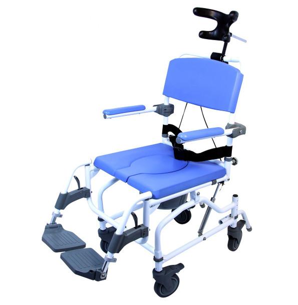 EZee Tilt Shower Commode Chair