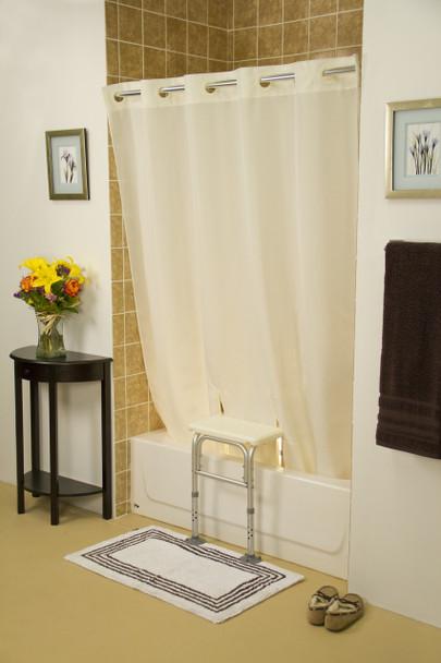 Hookless Bench Buddy Shower Curtain