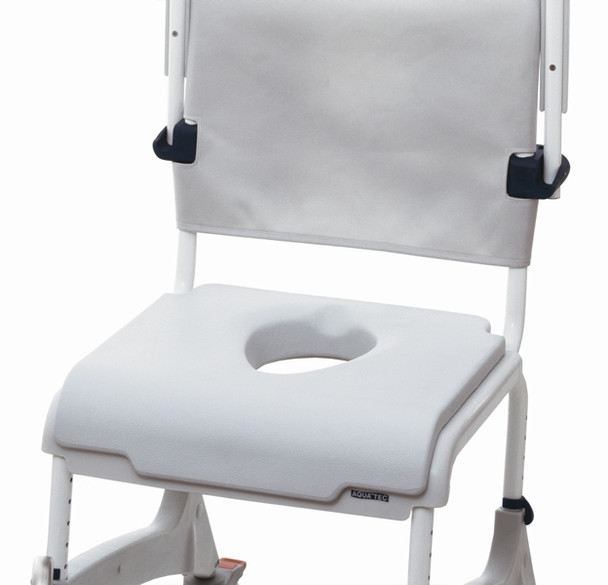 Soft Seat Overlay with Toilet Access