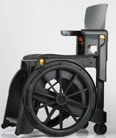 Buy Folding Shower Commode Wheelchair Clarke Healthcare