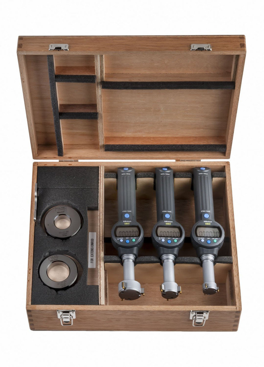 """ASDQMS 568-967 Borematic Set with ABSOLUTE Digimatic Output; 1.0"""" - 2.0"""" Range"""