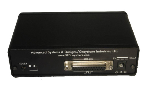ASDQMS RS232 Only GageMux® 4-Port Gage Interface Back