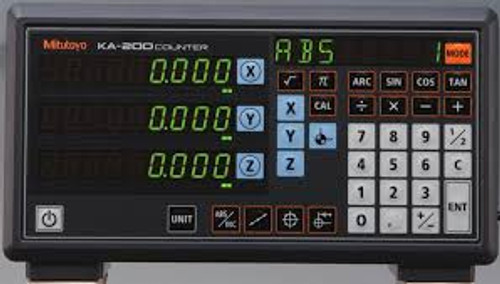 ASDQMS Mitutoyo 174-185A - KA Counter with 3 Axis