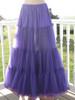 Chiffon Petticoat Purple