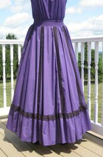 Fiesta Skirt- Purple