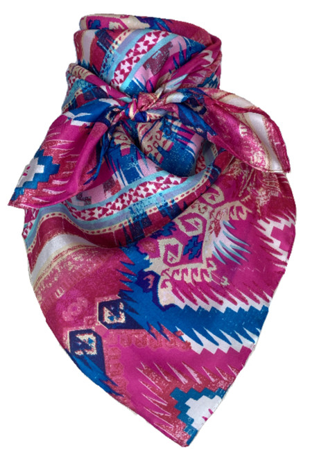 Aztec Pink and Blue