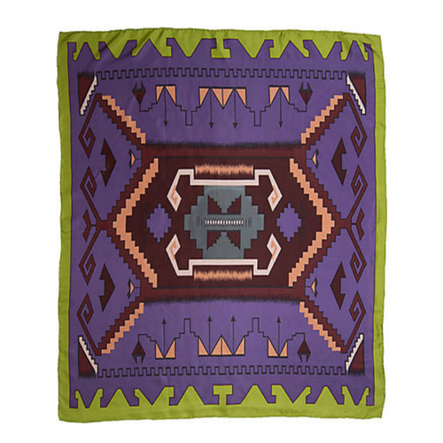 Southwest Purple and Lime