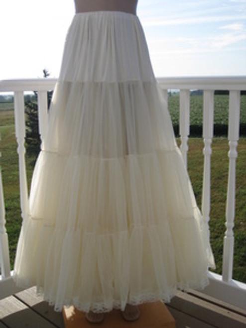 Chiffon Petticoat Natural