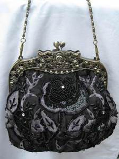 Vintage Evening Bag -HB03311-BLK