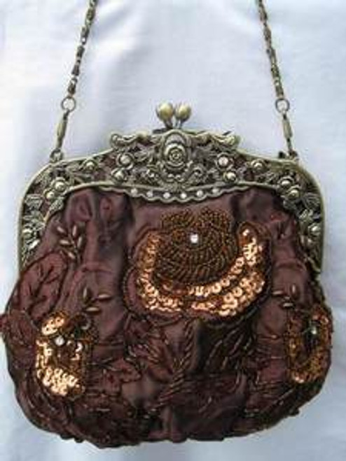Vintage Evening Bag HB03311-BRW