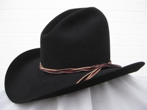 Gus Black Felt Hat