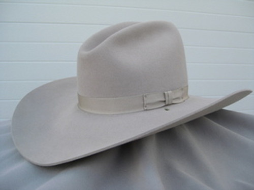 5X Low Gus Hat Silver Belly