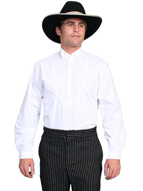 Wah Maker  Wing Tip Shirt White