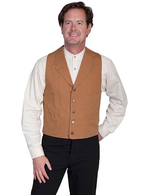 Wah Maker Canvas Vest Brown