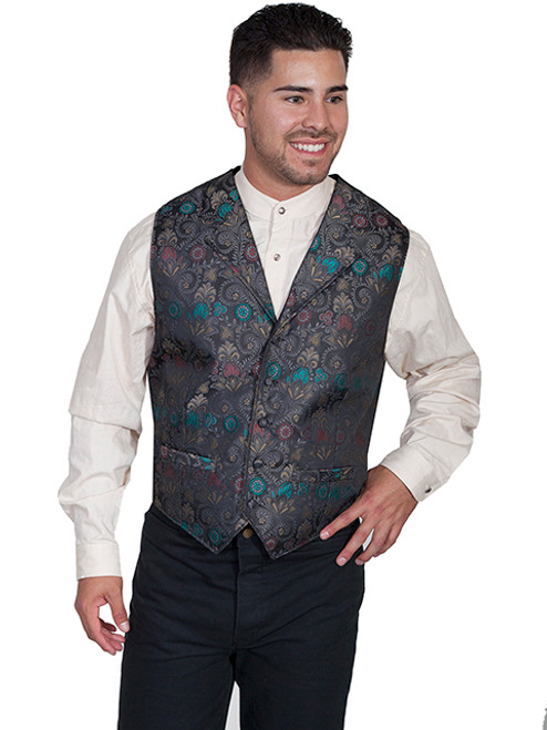 Scully Floral Print Vest