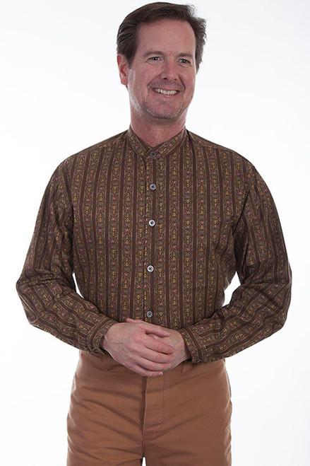 Wah Maker Brown Stripe Shirt