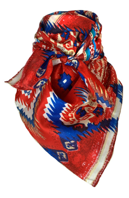 Aztec Red and Blue
