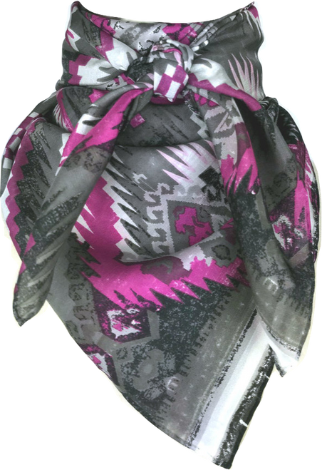 Aztec Silver and Pink