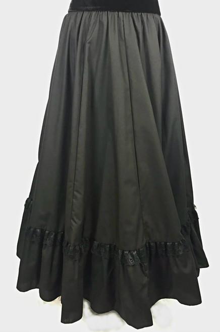Ruffle Skirt - Black