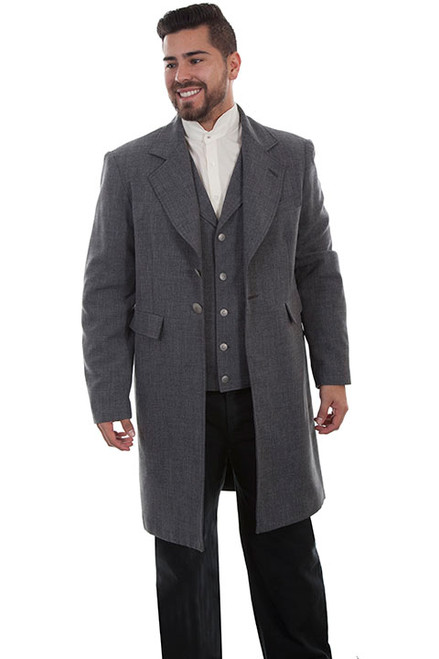 Dapper Frock Coat - Heather Gray